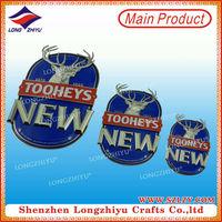 Die Casting Letter Custom Gold Car Badges Emblems,Letter Shape Badge Pins Car Plaque