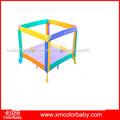 Colorido cojín de plástico bebé corralito, caliente venta de cama de bebé, multifunción para bebés baby cama bp800c