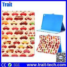 2014 Fashion Magnetic Flip Stand Blue TPU+PU Leather Case for iPad Air 2 iPad 6