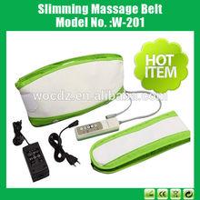 Top grade electric slimming massage belt / waist trimmer