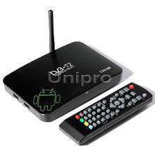 CS818II DVB-T DVB-T2 DVB T2 Amlogic 8726-MX Dual Core 1.5GHz Android 4.2 1G/8G FHD 1080P DLNA Miracast