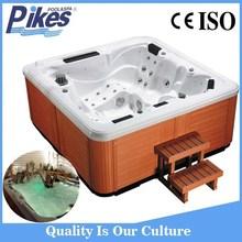Unforgettable outdoor air jet massage outdoor spa hot tub