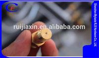 Customization high pressure gas burner nozzle,Brass gas burner nozzle for OEM