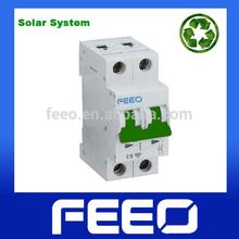 PV System 10KA 2 Phases 600V DC Mini Circuit Breaker