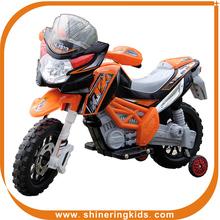 hot sale orange 3 wheel kids motorcycle from China