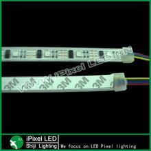 5050 digital black or white pcb ws2801 led strip