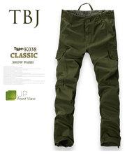 Custom Fashion Wholesale Men's army green cargo pants K038