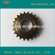 golden painting bike freewheel/high quality bicycle freewheel