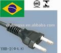 Brasil retráctil de extensión eléctrica cuerda/retráctil de extensión carrete de cable