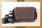 2014 Popular Vintage Genuine Leather DSLR Camera Bag