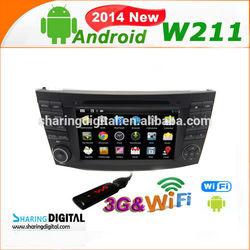 BNZ-7501GDA Support wireless IPOD accessories for mercedes benz w211