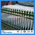 De alta calidad valla de alta seguridad para el diseño de la zonaindustrial, de segunda mano de palisade esgrima para la venta/barandilla/cerca de la aislamiento