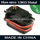 affluent 13.0KG metal servo &digital servo used for rc car
