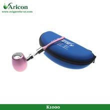 Aricon high quality max vapor metal pipe smoking accessories