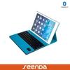 Wireless Bluetooth Keyboard Case Cover for iPad Air iPad air 2/ipad 6, Folio PU Leather Case with keyboard for ipad air