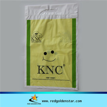 PE shopping Patch Handle plastic Bags/T-shirt bags/mailing bags