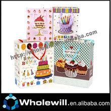 2014 Best Selling Elegant Happy Birthday Paper Bag