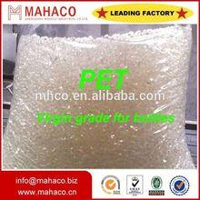 pet resin bottle grade polyester chips