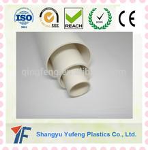 High Temperature Plastic Tubing 2 1 2 Inch PVC Pipe Hexagonal Pipe Plastic