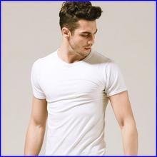 tight slim custom brand 100 cotton short sleeve cheap plain blank t shirt men wholesale