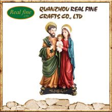 Wholesale Resin Saint Family Statue, Holy Family Statue, Religous Figure For Decoration