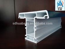 upvc 65 mullion co-extruded plastic window profiles