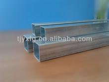 alibaba gold supplier square galvanized steel pipe for greenhouse