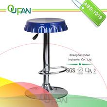 Oufan hot selling blue abs bottle cap bar stool