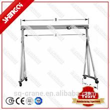 Free Direction Wheel Industry Using Travelling Gantry Crane