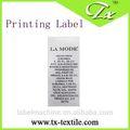 Personalizado etiquetasderoupas, cetim de etiquetas de tamanho, marca etiquetas para roupas