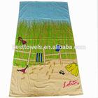 Customized printed beach towels pareo/beach towel sarong pareo