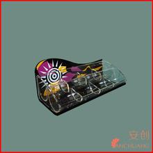 Plexiglass acrílico retângulo box_acrylic distribuidor de doces caixa