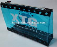 Super quality classic design eva/ pvc cosmetic zip lock bikini bag