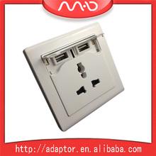 2 usb port euro usb wall socket