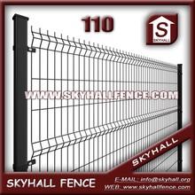 1.5m X 2.5m 4.0mm 50mm X 100mm Decorative Metal Garden Gates / Curvy Welded Mesh Fence ( Factory & Iso9001)