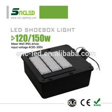 high mast LED shoebox light for Retail & Grocery Lighting 120W LED shoe box light