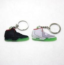Cheap Rubber Making Wholesale Funny Cartoon Jordan Shoes Keychain