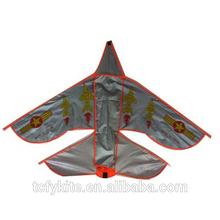 3D airplane kite, flying airplane kite,fiber glass airplane kite