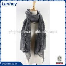 Lady Fashion Single Color Infinity Scarf 100 viscose scarves
