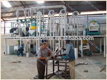 50T/D Full Set Corn/Maize Milling Machine Corn Grits Mill Machine grits making mill