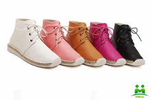 Hot sale comfort fashion girls leather boots