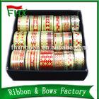 elastic ribbon gift bands