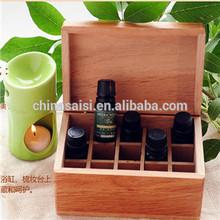 classical design wooden essential oil box wholesale hot sale