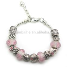 2014 New Trendy Murano Beads Bracelet For Women azure stone bead bracelet.BC413