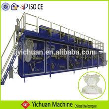 Yc-ynk400-fc automático de la frecuencia de alta calidad alta - velocidad del panal del bebé mima pañal fabricante