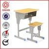 pupils furniture Double Plastic Metal Leg School Desk