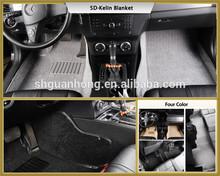 factory price Car Mats with PVC heel pads,car mat factory