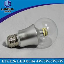 450lm 80ra e27 5w dimmable energy saving lighting led bulb
