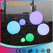 À prova d ' água de plástico colorido ao ar livre levou bola bola forma lâmpada