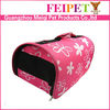 Fahsion Eco-friendly Low MOQ Wholesale water-proof trolley pet carrier pet pocket dog carrier for small dog
